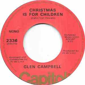 Glen Campbell - Christmas Is For Children mp3 flac download