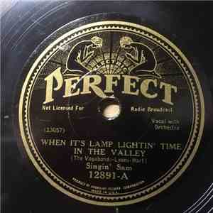 Singin' Sam  - When It's Lamp Lightin' Time In The Valley / The Sidewalk Waltz mp3 flac download