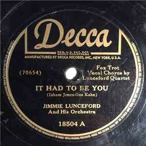 Jimmie Lunceford And His Orchestra - It Had To Be You / Keep Smilin', Keep Laughin', Be Happy mp3 flac download