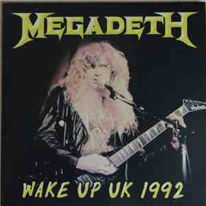 Megadeth - Wake Up Uk 1992